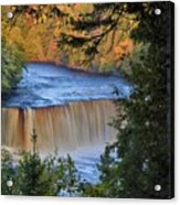 Upper Tahquamenon Falls In October Acrylic Print