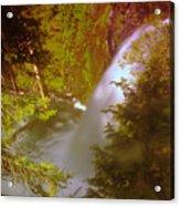 Upper Union Creek Falls  Acrylic Print