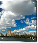 Upper West Side Cityscape Acrylic Print