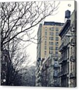 Upper West Side Winter Acrylic Print