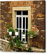 Upper Window Acrylic Print