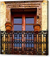 Upper Window Tlaquepaque Acrylic Print