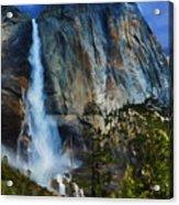 Upper Yosemite Falls Acrylic Print