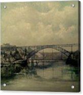 Upstream -bridge D.luis I-oporto Acrylic Print
