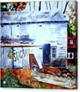 Upstate Barn Acrylic Print