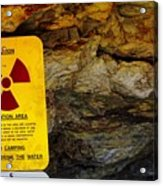Uranium Mine In Capitol Reef Np Acrylic Print