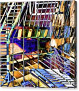 Urban Abstract 172 Acrylic Print