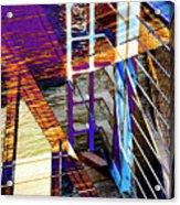 Urban Abstract 224 Acrylic Print