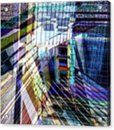 Urban Abstract 304 Acrylic Print
