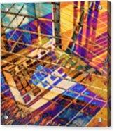Urban Abstract 423 Acrylic Print