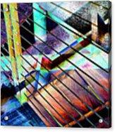 Urban Abstract 53 Acrylic Print