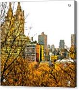 Urban Autumn In Nyc Acrylic Print