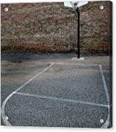 Urban Basketball Street Ball Outdoors Acrylic Print