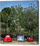 Urban Camping Acrylic Print