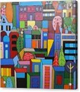 Urban Cityscape 1 Acrylic Print