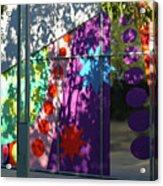 Urban Color - Afternoon Shadows Acrylic Print