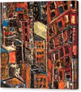 Urban Congestion Acrylic Print