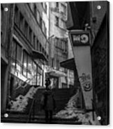 Urban Darkness Acrylic Print