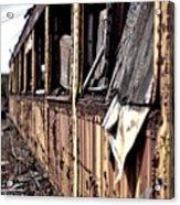 Urban Decay  Train 2 Acrylic Print