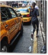 Urban Jogger Acrylic Print