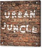 Urban Jungle Acrylic Print