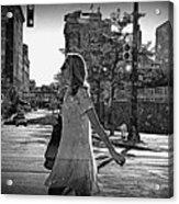 Urban Lady Acrylic Print