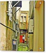 Urban Landscape-blind Alley Acrylic Print