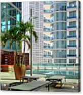 Urban Landscape, Miami, Florida Acrylic Print