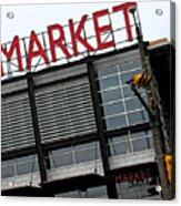 Urban Market Acrylic Print