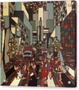 Urban Music Vl Acrylic Print
