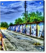 Urban Overpass Acrylic Print