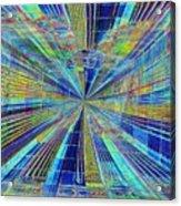 Urban Starburst Acrylic Print