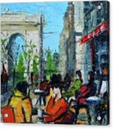 Urban Story - Champs Elysees Acrylic Print