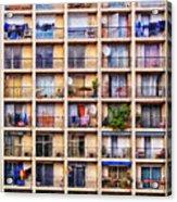 Urbanisation Acrylic Print