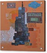 Urbanization Xiv Acrylic Print