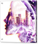Urbanize Acrylic Print
