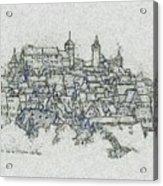 uremberg Sketching Acrylic Print