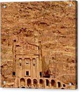 Urn Tomb, Petra Acrylic Print