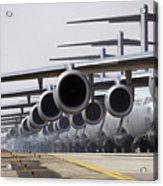 U.s. Air Force C-17 Globemaster IIis Acrylic Print