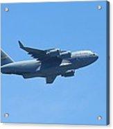 U.s. Air Force Cargo Plane Acrylic Print