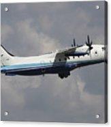 U.s. Air Force Dornier 328 Transiting Acrylic Print