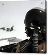 U.s. Air Force Pilot Takes Acrylic Print