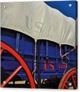 U S Army Supply Wagon Acrylic Print