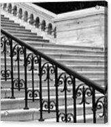 United States Capital Steps Acrylic Print