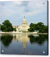 Us Capitol 1 Acrylic Print
