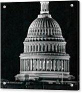 Us Capitol Acrylic Print