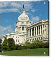 Us Capitol Washington Dc Acrylic Print