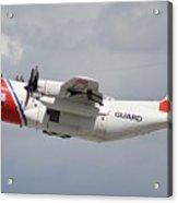 Us Coast Guard C-130 Acrylic Print