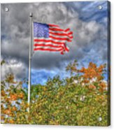 Us Flag 8091 Acrylic Print