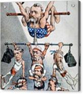 U.s. Grant Cartoon, 1880 Acrylic Print